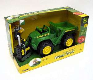 Ertl John Deere Mighty Movers Radio control Dump Truck with Figure