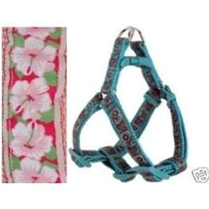 Douglas Paquette STEP Dog Harness HIBISCUS PINK XX SM