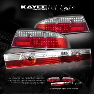 95 96 97 98 NISSAN 240SX S14 TAIL LIGHTS JDM RED