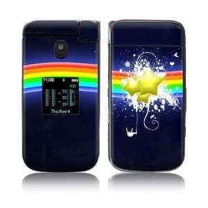 Rainbow Stars Decorative Skin Cover Decal Sticker for Samsung Zeal
