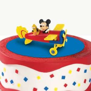 Party By Deco Pac Disney Mickey & Pluto Cake Topper