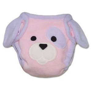 Pink Puppy Diaper Cover (M) Baby