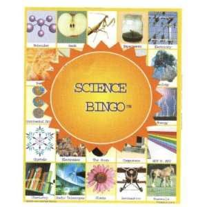 Science Bingo Educational Game Toys & Games