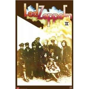 Led Zeppelin Poster II Record Album Cover