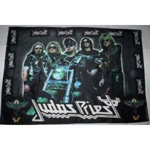 JUDAS PRIEST 5x3 Foot Cloth Textile Fabric Poster