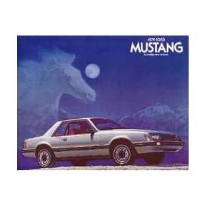 1979 FORD MUSTANG Sales Brochure Literature Book Piece