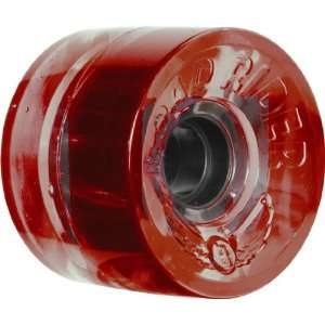 Road Rider Tens 72mm 78a Red Skateboard Wheels (Set Of 4