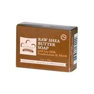 Nubian Heritage Raw Shea Butter Soap 5oz, Double Pack