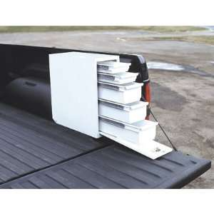 Aluminum Sliding Drawer Truck Box   5 Drawer