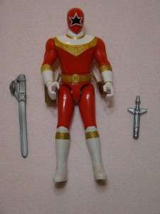 POWER RANGERS * ZEO GOLD / GREEN / RED / YELLOW Bandai 1996 Action
