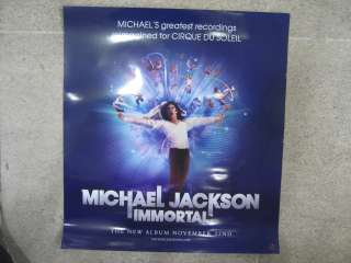 Michael Jackson / Immortal OFFICIAL POSTER NEW