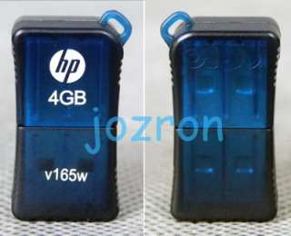 HP v165w 4GB 4G USB Flash Pen Drive Memory Disk Stick