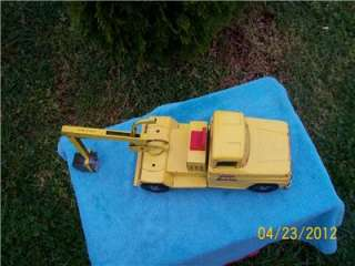 TONKA Mound Minn 1963 Original #422 BACK HOE TRENCHER TRUCK Pressed