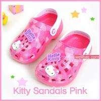 Hello Kitty Sandals Kids Girls Flip Flop Shoes Size 7 3