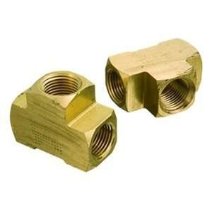 1/4FPT 1.56 OAL 1200psi Brass Pipe Fitting Female Tee