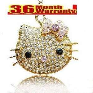 New Hello Kitty Crystal USB Flash Memory Pen Drive 16gb/3