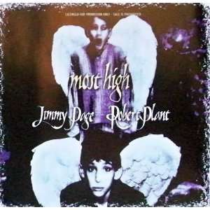 Jimmy Page & Robert Plant Most High Three Track Limited Edition CD