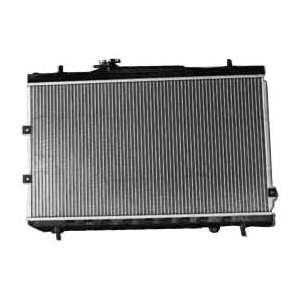 Kia Spectra 1 Row Plastic Aluminum Replacement Radiator Automotive