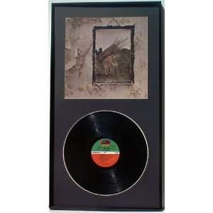 Led Zeppelin Zoso Walbum Framed Album