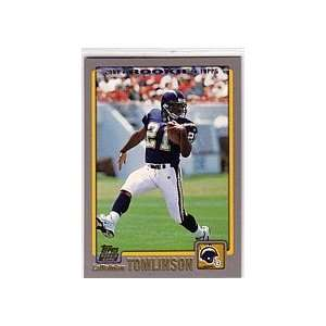2001 Topps Football San Diego Chargers Team Set Sports