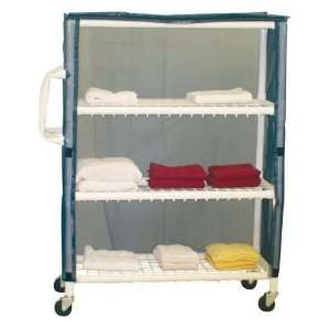 MJM International 350T 3C Linen Cart Health & Personal