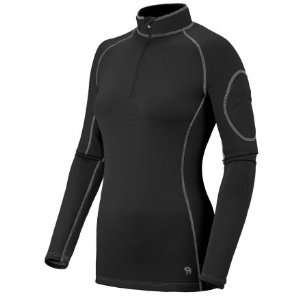 Mountain Hardwear Micro Power Stretch Zip Top   Womens