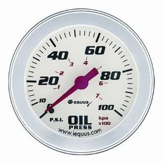Equus 8464 Electric Oil Pressure Gauge Automotive