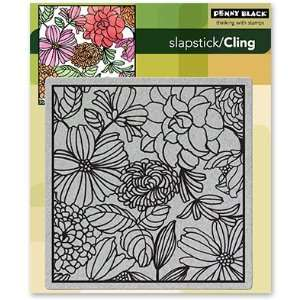 Penny Black Cling Rubber Stamp 5X7 1/2 Mosaic Arts, Crafts & Sewing