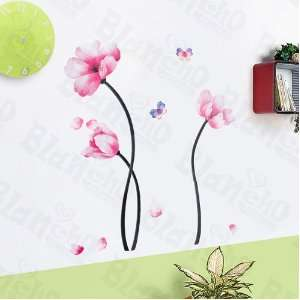 Lively Flowers   Large Wall Decals Stickers Appliques Home