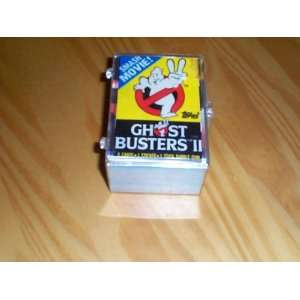 GhostBusters II 1989 topps trading card set of 88 plus sticker set of