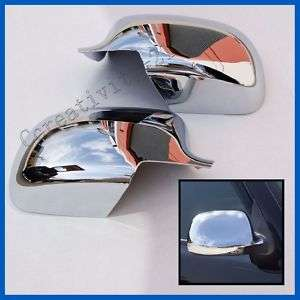99 06 Chevy Silverado GMC Sierra Mirror Covers Chrome