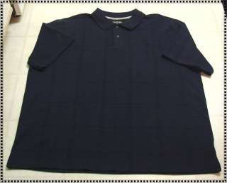 MENS BIG & TALL DAVID TAYLOR COLLECTION POLO SHIRT