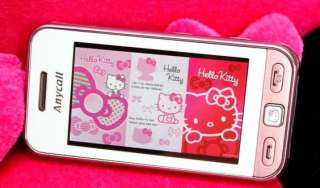 Hello Kitty Limited Edition Samsung S5230 Unlocked Touch Screen GSM