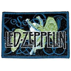 Led Zeppelin 4 Symbols and Swan Song Sew On or Iron On Embroidered