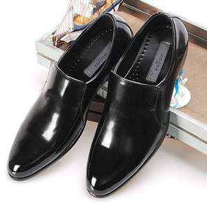 New Handmade Mens Leather Dress Formal Black Shoes Loafers Slip On