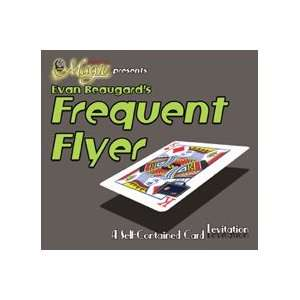 Frequent Flyer Bicycle Cards Magic Trick Floating Poker