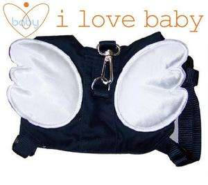 Blue Angel Baby Toddler Walking Safety Harnesses Rein