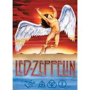 Led Zeppelin   Swan Song   Poster (38.5x53.5)