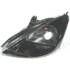 02 03 FORD FOCUS HEADLIGHT LH (DRIVER SIDE), W/O HID Lamp, W/SVT Model