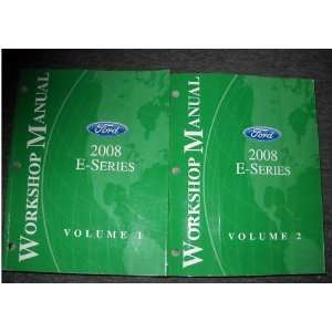 2008 Ford Econoline E Series Van Service Manual Set OEM (2