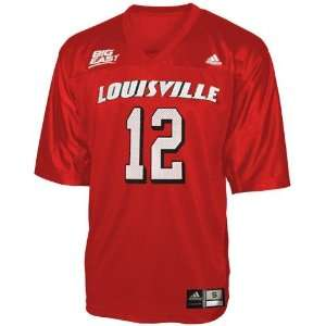 Adidas Louisville Cardinals #12 Red Infant Replica Football