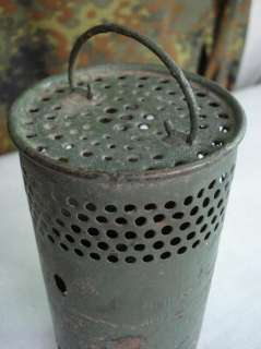WWII ORIGINAL GERMAN TANK & TENT MINI GASOLINE HEATER