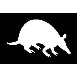 ARMIDILLO Silhouette Vinyl Sticker/Decal (Animal,Texas