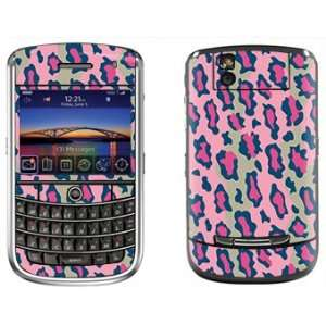 Pink Leopard Print Skin for Blackberry Tour 9630 Phone