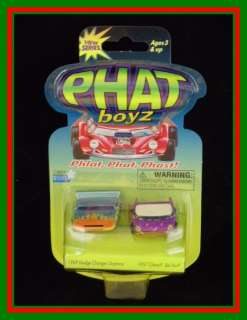 Phat Boyz 69 Dodge Charger Daytona & 1957 Chevy Bel Air car set