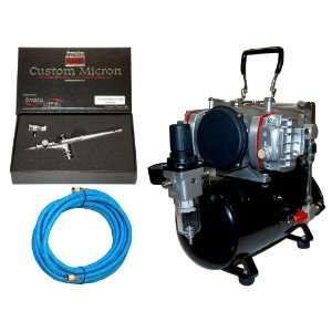TC 828 Twin Piston Air Compressor w/ Tank