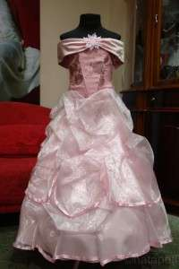 FLOWER GIRL PAGEANT PARTY HOLIDAY DRESS 875 PINK SIZE 6 8