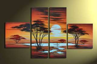 Modern Abstract Huge Wall Art Oil Painting On Canvas 024