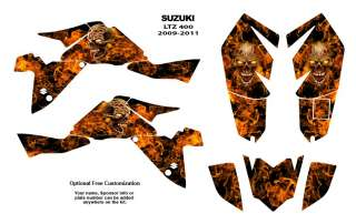 SUZUKI LTZ 400 Quad Graphic Decal Sticker Kit #9500N