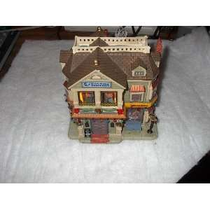City Dance Hall Lighted Christmas Village Building